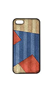 Abstract Design Valvet Printed Back Case/Cover For Apple iPhone 5S