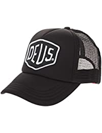 Deus Ex Machina Baylands Trucker Cap - Black 75c417605e2e