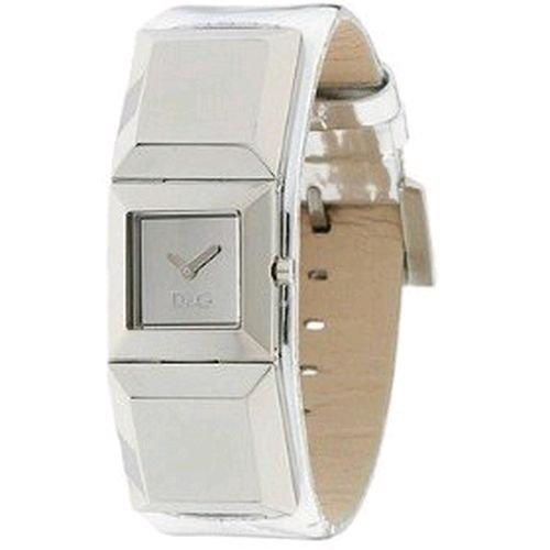 D&G Dolce&Gabbana Damen-Armbanduhr DANCE LDY SS SLV DIAL SLV STRAP DW0272