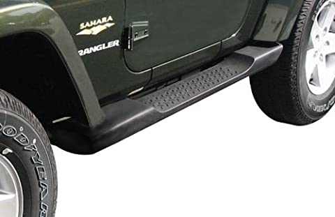 2007-2014 Jeep Wrangler 2 Door Factory Molded Side Steps/Running Boards-OEM by Mopar