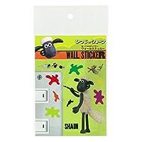 Iwatani Materials Shaun the Sheep Wall sticker Sean A SH-7