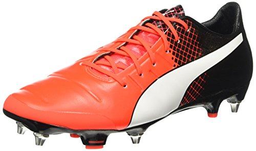 Puma Evopower 1.3 Mx Sg, Chaussures de Football Compétition Homme Rouge - Rot (Red blast-puma white-puma Black 01)