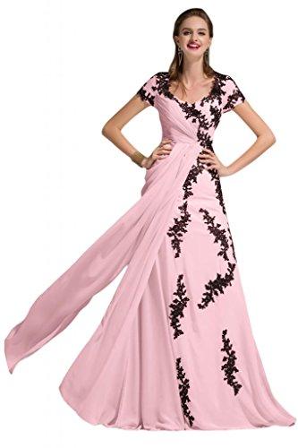 Sunvary Romantic uno Chiffon spalla sera, abiti da damigella d'onore, per bambini Grape