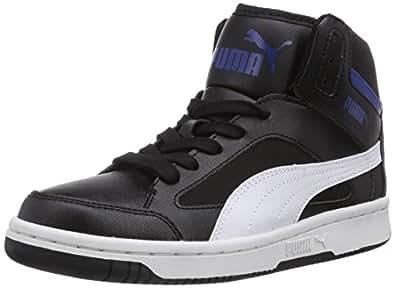 Puma Men's PUMA Rebound v.2 Hi Black-White Running Shoes - 3 UK/India (35.5 EU)