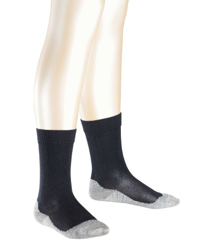 FALKE Jungen Sneakersocken Active Sunny Days SN, Einfarbig, Gr. 39 (Herstellergröße: 39-42), Blau (darkmarine)