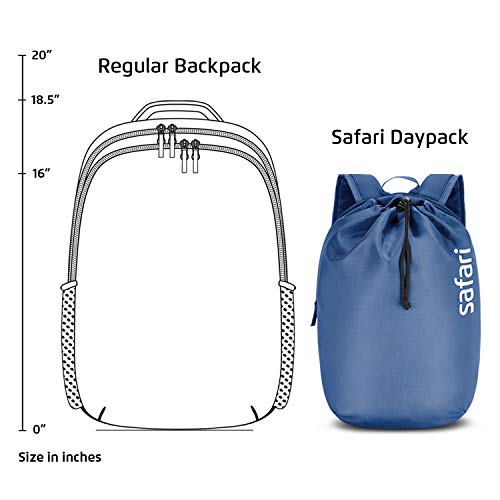 SAFARI 15 Ltrs Denim Blue Casual Backpack (DAYPACKNEO15CBDNB) Image 7