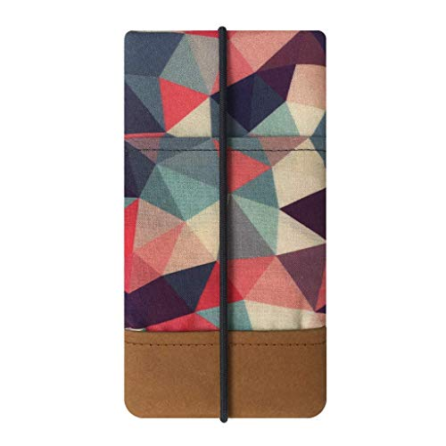 Kuratist Handytasche - Handgemacht - 100{7fc56e3e0ba7960aecec7e7a583c5af9d90afb6b0d84a77ceaa1d42a6ce92a10} Baumwolle mit Designerdruck und Papier Kantenschutz (tierfrei) (geeignet für Huawei P20 Lite/Pro; iPhone XS Max/XR / 8 Plus / 7 Plus / 6 Plus, Tribal)