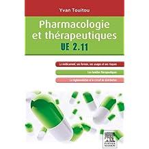 Pharmacologie et thérapeutiques: UE 2.11