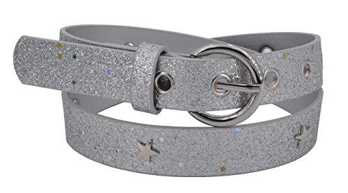 scarpe sportive 5795d 4f3df Cintura bambina EANAGO 'Superstar argento' per bambine (scuola  dell'infanzia e scuola elementare, 5-10 anni, fianchi 57-72 cm), argento  con ...