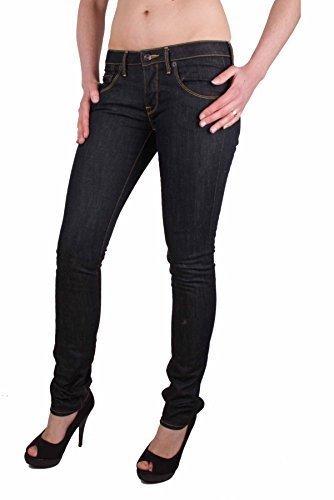 Napapijri Jeans Pantaloni Donna A sigaretta Blu Elasticizzato W26/L34 #RIF149 - blu scuro, 26W / 34L