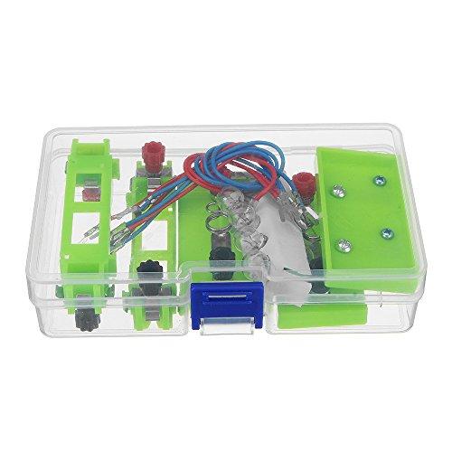ChaRLes Leichte Kleine Lampe Halter Glühbirne Batterie Box Sockel Basis Physikalische Schaltung Experiment Ausrüstung - Experiment Glühbirne