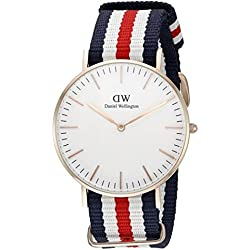 Reloj Daniel Wellington Mujer 0502DW Classic Canterbury color oro rosa 36 mm