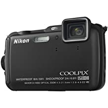 Nikon Coolpix AW120 Outdoor-Digitalkamera (16 Megapixel, 5-fach optischer Weitwinkel-Zoom, 7,5 cm (3 Zoll) OLED-Monitor, Dynamic Fine Zoom, Full-HD-Videofunktion, Wi-Fi, GPS, elektronischer Kompass, ultrarobust) schwarz