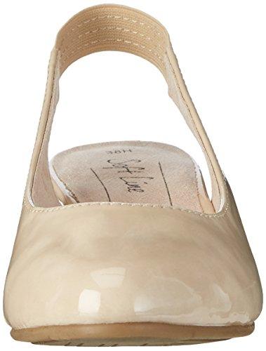 Softline 29561, Sandales Bout Ouvert Femme Beige (Dune Patent 406)