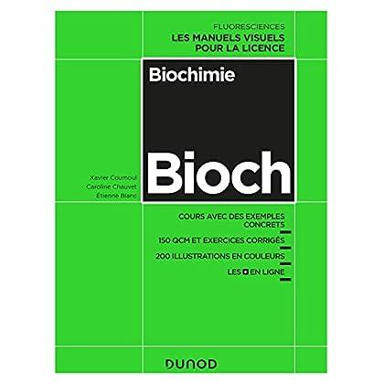 Biochimie - Cours avec exemples concrets, QCM, exercices corrigés