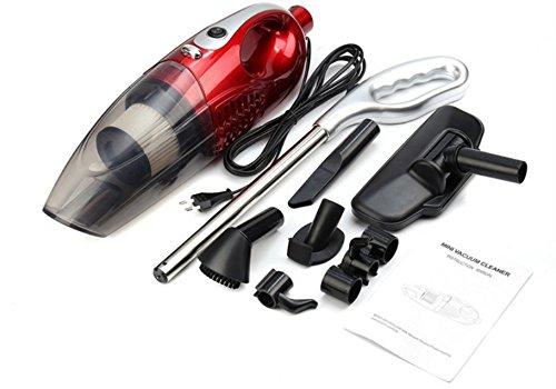 Comprajunta 1200W 2 in 1 Leichter Vertikaler Laptop Ohne Beutelhauptstammauto-Fahrzeugreinigungsausrüstung