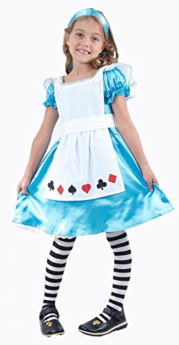 ALICE IM WUNDERLAND (ALICE IN WONDERLAND) Kostüm costume Fancy Dress Costume Karneval (Wonderland Alice Kostüme Für In Dress Fancy Erwachsene)