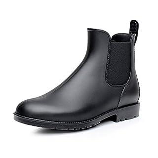 Asgard Women's Short Rain Boots Waterproof Ankle Chelsea Booties B39