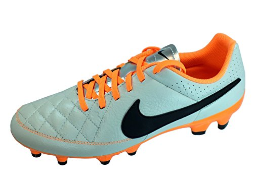 Nike Tiempo Genio Leather FG Homme Chaussures de Football Weiß