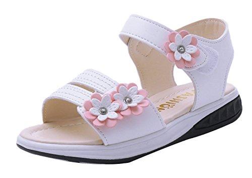 EOZY Basse Chaussures Princesse Bébé Fille Enfant Fleur Casual Soft-Soled Été Sandale Shoes