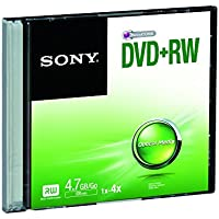 Sony DPW47SS - DVD+RW regrabable con capacidad de hasta 4,7 GB