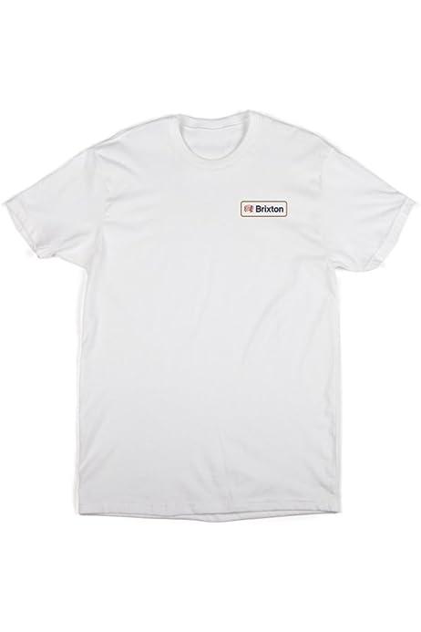 BRIXTON – Camiseta para Hombre Wheeler estándar, Hombre, T-Shirt Wheeler Standard, Negro, M: Amazon.es: Ropa y accesorios