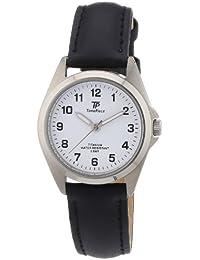 Time Piece Damen-Armbanduhr XS Titan Lederband Analog Quarz Leder TPLT-50219-12L