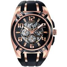Viceroy 47567-95 - Reloj de caballero automático, correa de goma color negro