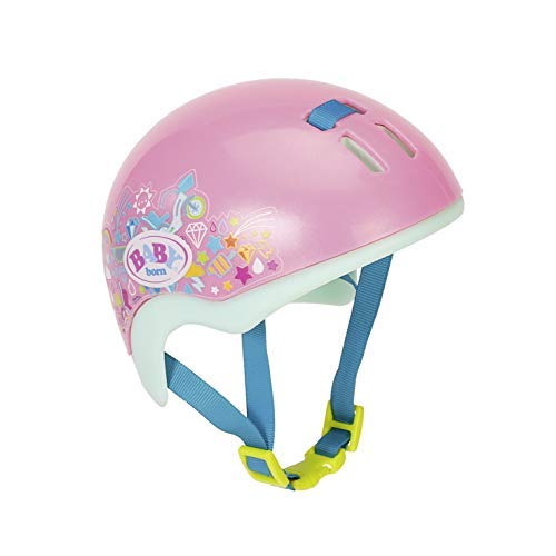 Zapf Creation 827215 BABY born Play & Fun Fahrradhelm, Puppenzubehör 43 cm