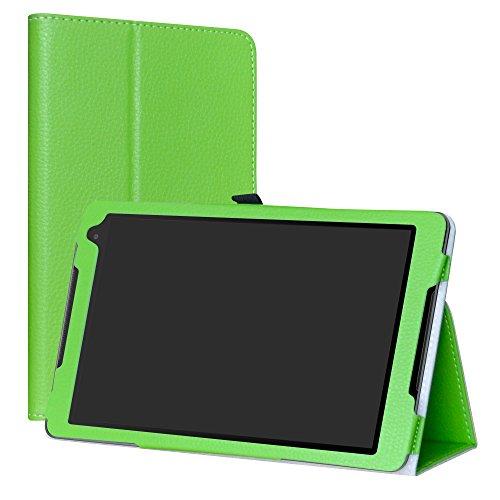 LiuShan Alcatel A3 (10) 4G hülle, Folding PU Leder Tasche Hülle Case mit Ständer für 10.0