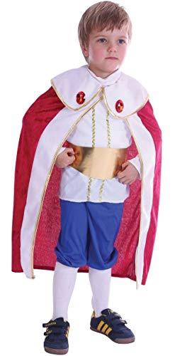 Fancy Me Junge Kleinkind Prince Charming König Weihnachtskostüm Outfit 2-3 J - Multi, Multi, 2-3 (Prinz Charming Kostüm Für Herren)
