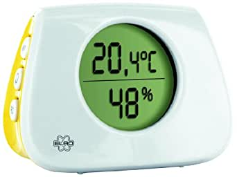 Elro CP124 Thermomètre digital avec hygromètre