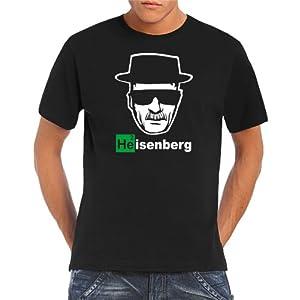 Touchlines Herren  - Heisenberg Walther White T-Shirt, black, XL, B1928-Black-XL