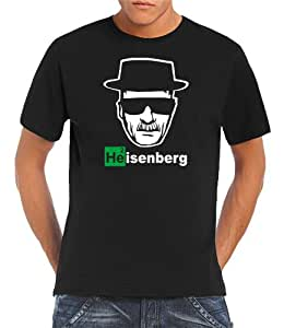 Touchlines Men's T-Shirt Heisenberg Walter White Logo black Size:S