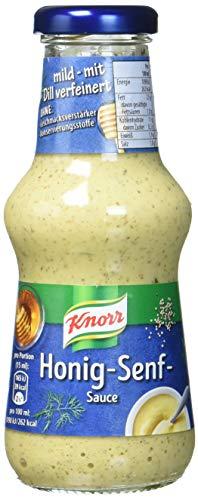Knorr Grillsauce Honig-Senf Soße 250 ml (6 x 250 ml) - Dip-sauce Fondue