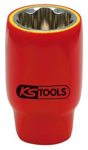 KS TOOLS 117 1218 - LLAVES DE VASO VDE HEXAGONALES (TAMAñO: 18 MM  1/2)