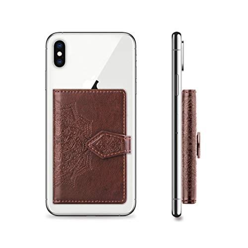 Handy-Kartenhalter, Brieftasche zum Aufkleben auf der Rückseite des Telefons, Slim Phone Pocket ID Kreditkarteninhaber Kartenhalter für Kartenhalter Universell passend für die meisten Handys&Hülle
