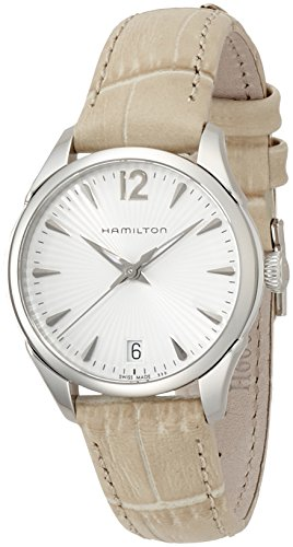 Hamilton Hamilton JazzMaster Lady h42211855 Leather Bracelet Ladies Watch – h42211855