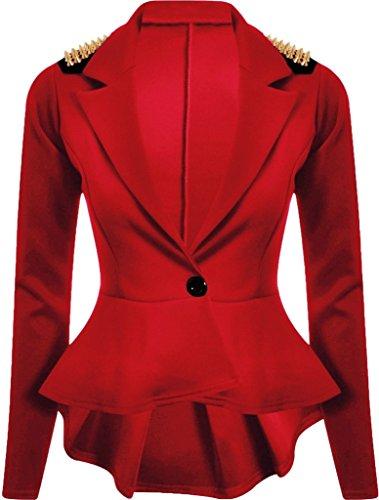 Islander Fashions - Giacca da abito -  donna Rot