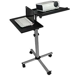 Systafex chariot professionnel projektorwagen laptopwagen table pour vid o projecteur wagons vs - Table pour videoprojecteur ...