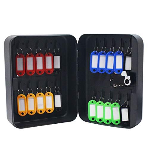 Armoires à clés Boîte À Clés Mot De Passe 36 Bits Boîte À Clés Armoire De Gestion des Clés Suspendus Boîte À Clés Boîte À Clés Carte Clé Boîte Noire