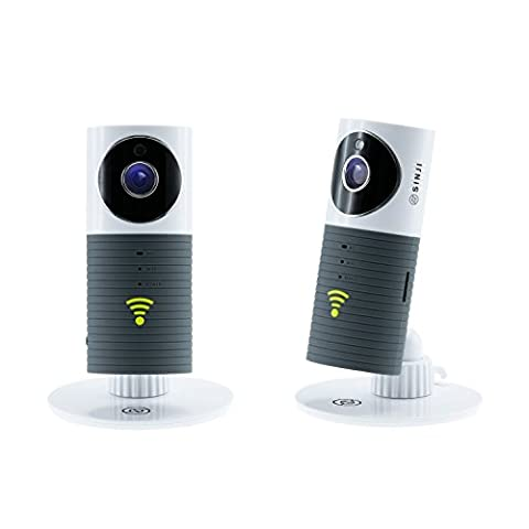 SINJI Indoor Smart WIFI Camera Webcam Wifi, Sans Fil