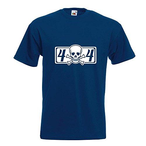 KIWISTAR - 4 x 4 Allrad T-Shirt in 15 verschiedenen Farben - Herren Funshirt