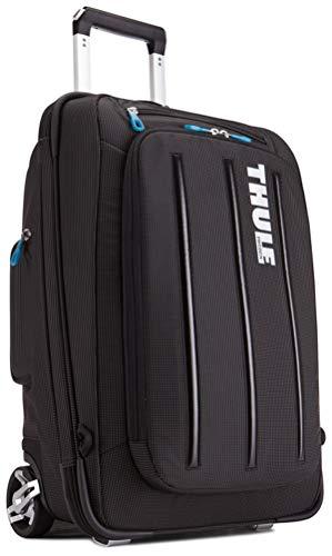 Thule Reisetrolley Rucksack Tasche Crossover Carry-On 38L Laptop-Fach 15´´ Schwarz + Adressanhänger Bowatex