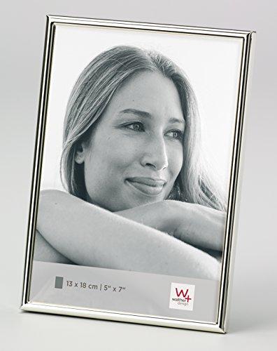 walther design WD318S Portraitrahmen Chloe, 13x18 cm, versilbert, anlaufgeschützt Silber 13