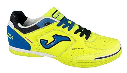 Joma Top Flex, Scarpe da Calcetto Unisex – Adulto Giallo (Lemon)