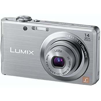 Panasonic Lumix DMC-FS16EG-S Digitalkamera (14 Megapixel, 4-fach opt. Zoom, 6,7 cm (2,7 Zoll) Display, bildstabilisiert) silber