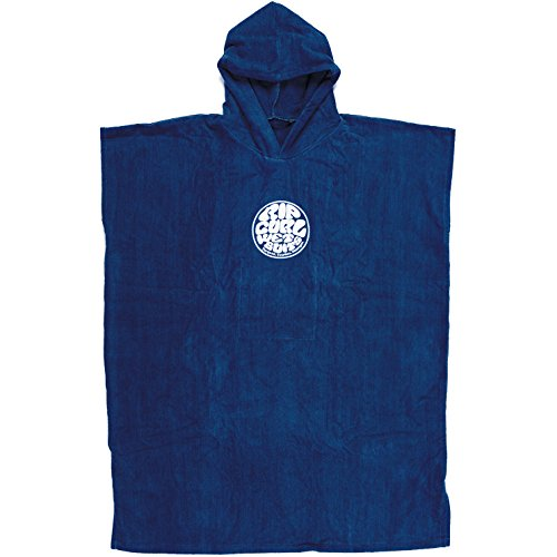 RIP CURL Change Poncho,Hooded Towel,Poncho,Handtuch mit Ärmel,Surf-Handtuch,Kapuze,Nautical Blue,Unisex EU/TU (Nautical Shorts Swim)