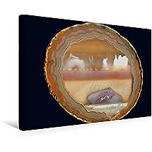 Premium Textil-Leinwand 45 cm x 30 cm quer, Ein Motiv aus dem Kalender Achate - natürlich schön | Wandbild, Bild auf Keilrahmen, Fertigbild auf echter Leinwand, Leinwanddruck (CALVENDO Natur)