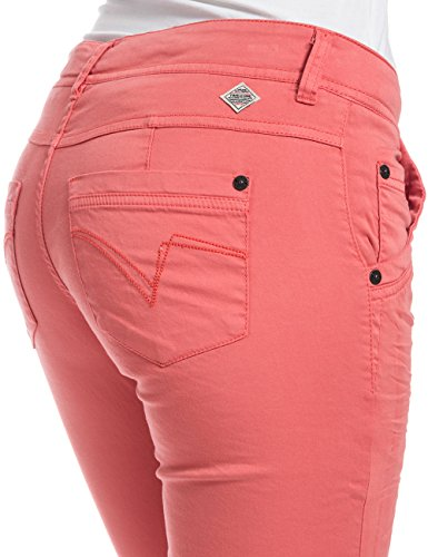 Timezone Damen Hose Nalitz 7/8 Pants Rot (blooming coral 5191)